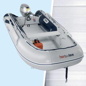 Tender honwave T35AE pagliolo alluminio